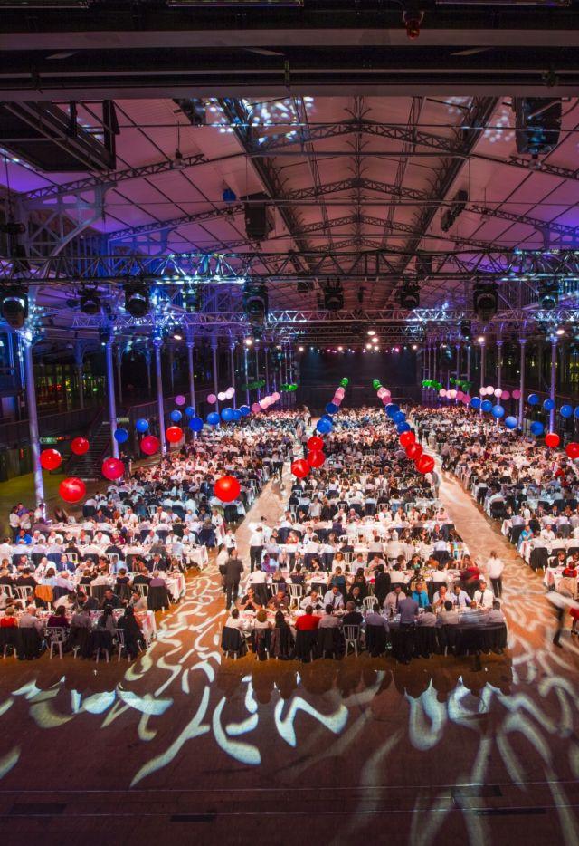 Convention annuelle du Groupe Soufflet dans la Grande Halle de La Villette