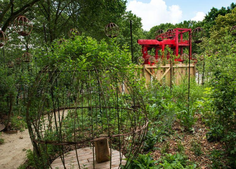 Les nouveaux jardins de la Villette - Dans ma bulle ©Bruno Delamain