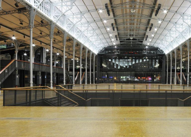 Grande Halle de La Villette La Nef atrium