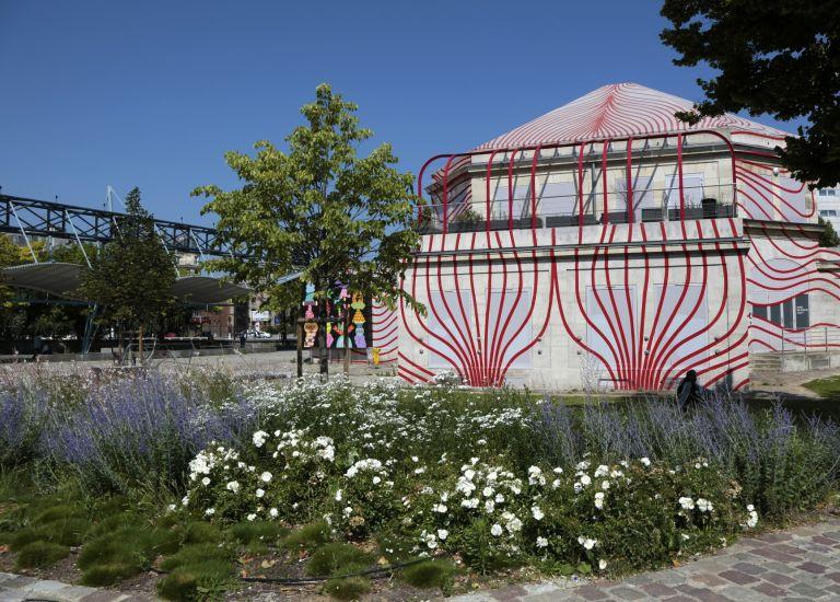 Pavillon Villette / WIP Villette vue extérieure