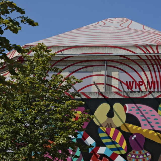 Pavillon Villette / WIP Villette street art