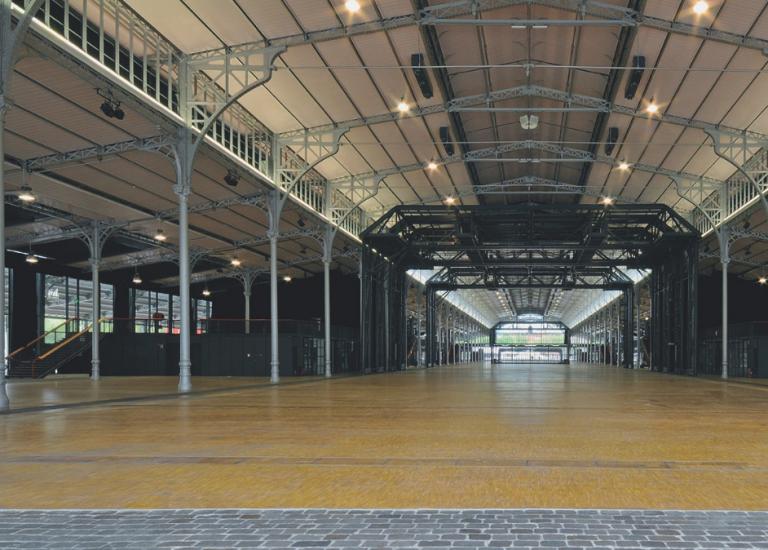 Intérieur Grande Halle