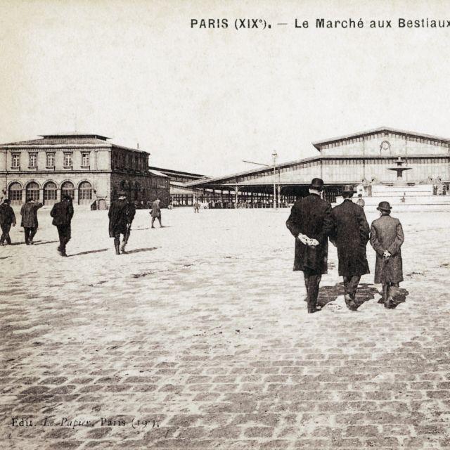 Le Pavillon bourse de la Halle aux Boeufs à La Villette