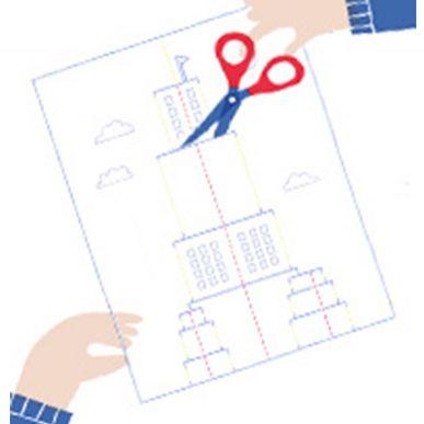 Une carte pop-up pour écrire à tes amis !