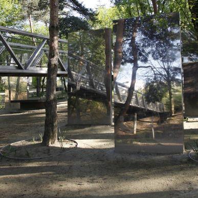 le Parc de La Villette confiné, vide