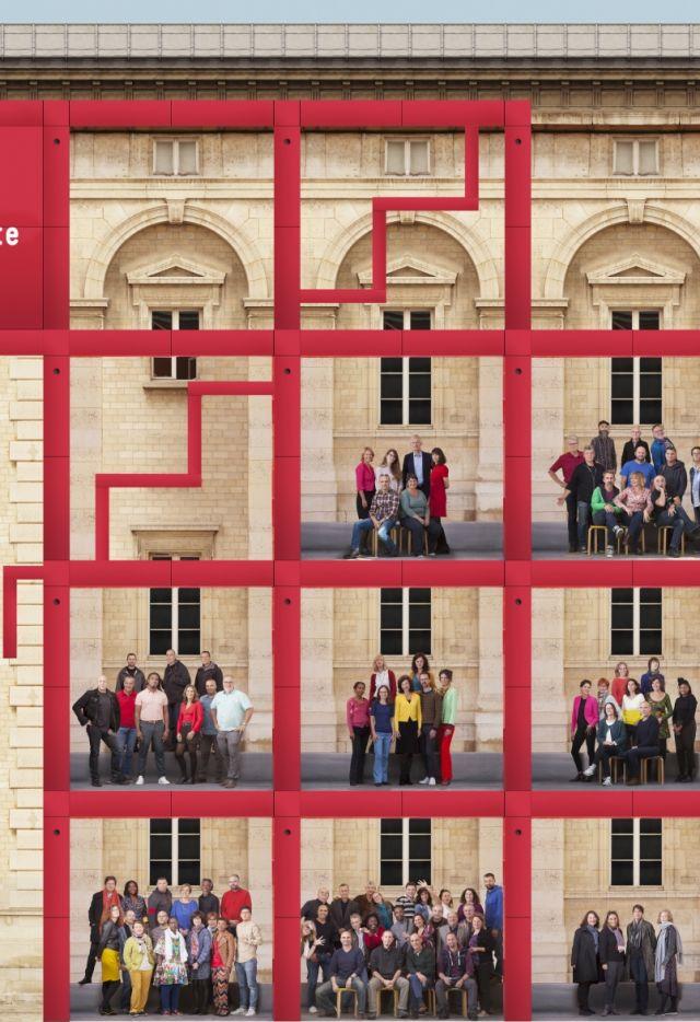 Les équipes de La Villette - Agence FOTONI - Sandro Salomone