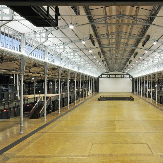 Grande Halle de La Villette La Nef vue complete