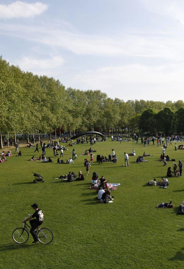 Prairie du Cercle à La Villette