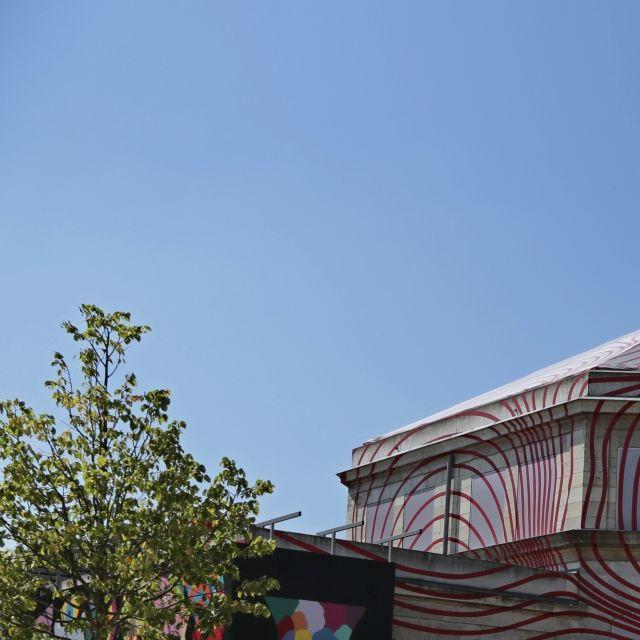 Pavillon Villette / WIP Villette vue de plus loin
