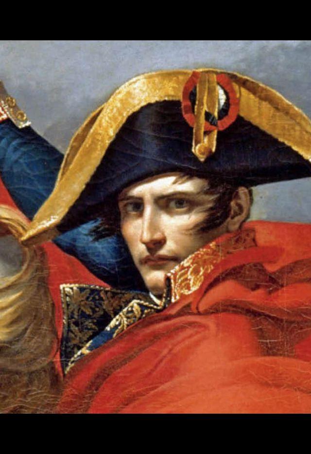 Jacques-Louis David, Premier consul, franchissant le Grand-Saint-Bernard, le 20 mai 1800 (détail), 1802, Versailles, muséee national des châteaux de Versailles et de Trianon.