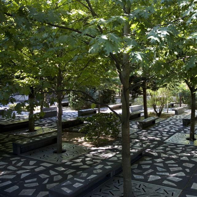 Jardin des ombres à La Villette