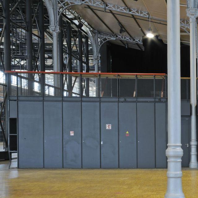 Grande Halle de La Villette Espace Charlie Parker parquet
