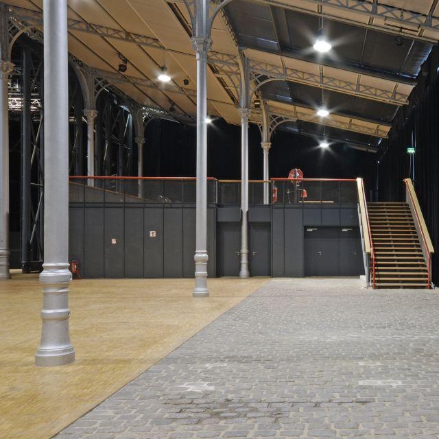 Grande Halle de La Villette Espace Charlie Parker entrée