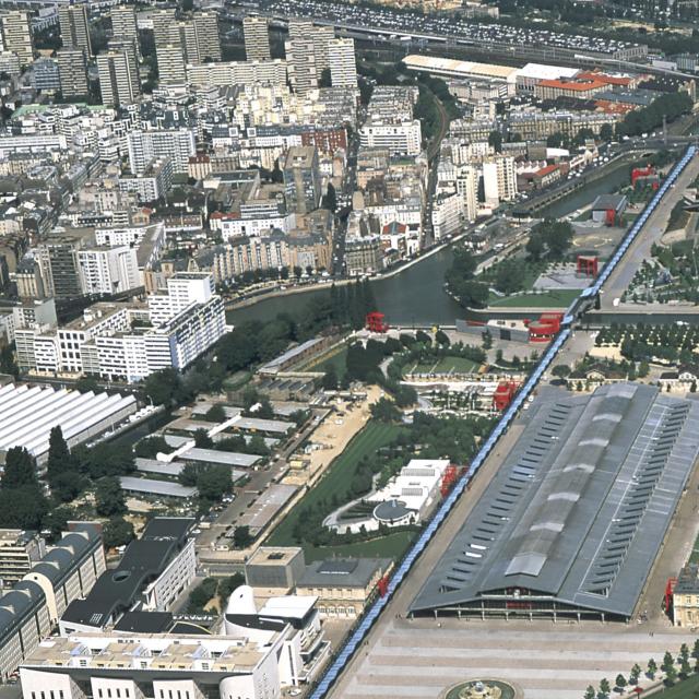 Achèvement des travaux du parc de La Villette