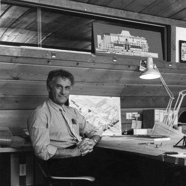Adrien Fainsilber, architecte de La Géode