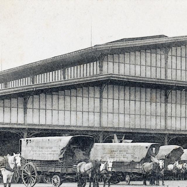 Le marché aux bestiaux de La Villette