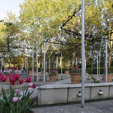 Les nouveaux jardins de la Villette