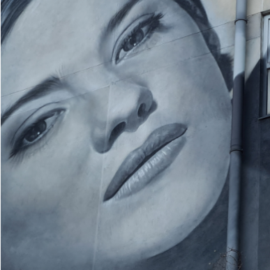 Portrait de Marion Cotillard par BK Foxx