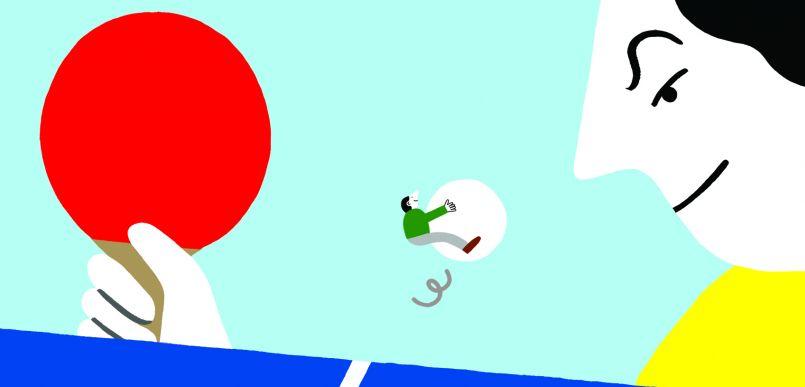 Le tennis de table • Épreuve 8  26.10.2021