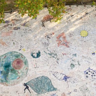 L'Artère, le jardin des dessins