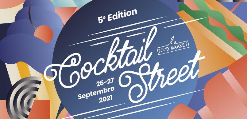 Avec plus de 24 000 visiteurs et 45 000 cocktails servis en 2019, la Cocktail Street continuera sur sa lancée pour cette édition 2021 !
