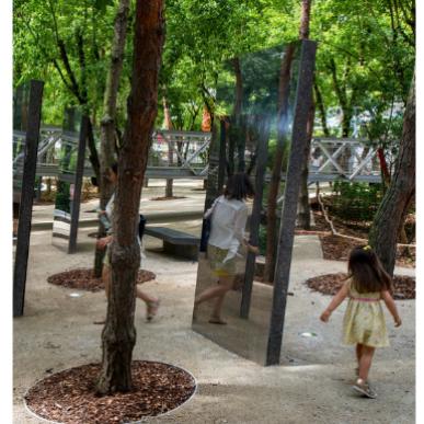 Jardin des Miroirs
