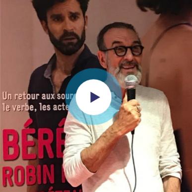 Voir l'interview de Robin Renucci